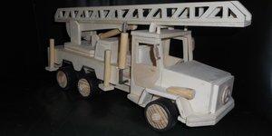 Modelbouw brandweer auto