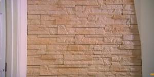 Wand opleuken met steenstrips