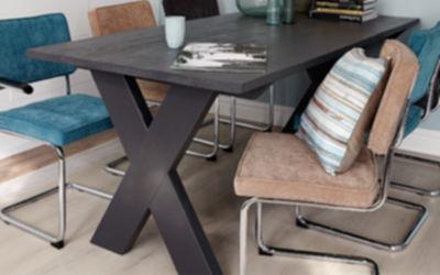 Tafel Steigerhout Tekening : Bouwtekening houten tafel basic voordemakers