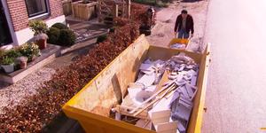 Afvalcontainer of bouwafvalzak voor het afvoeren van je sloopmateriaal