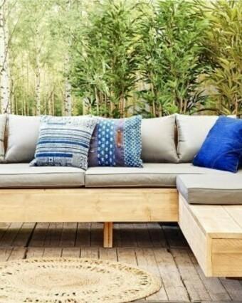 Hoe maak ik een zwevende loungebank?
