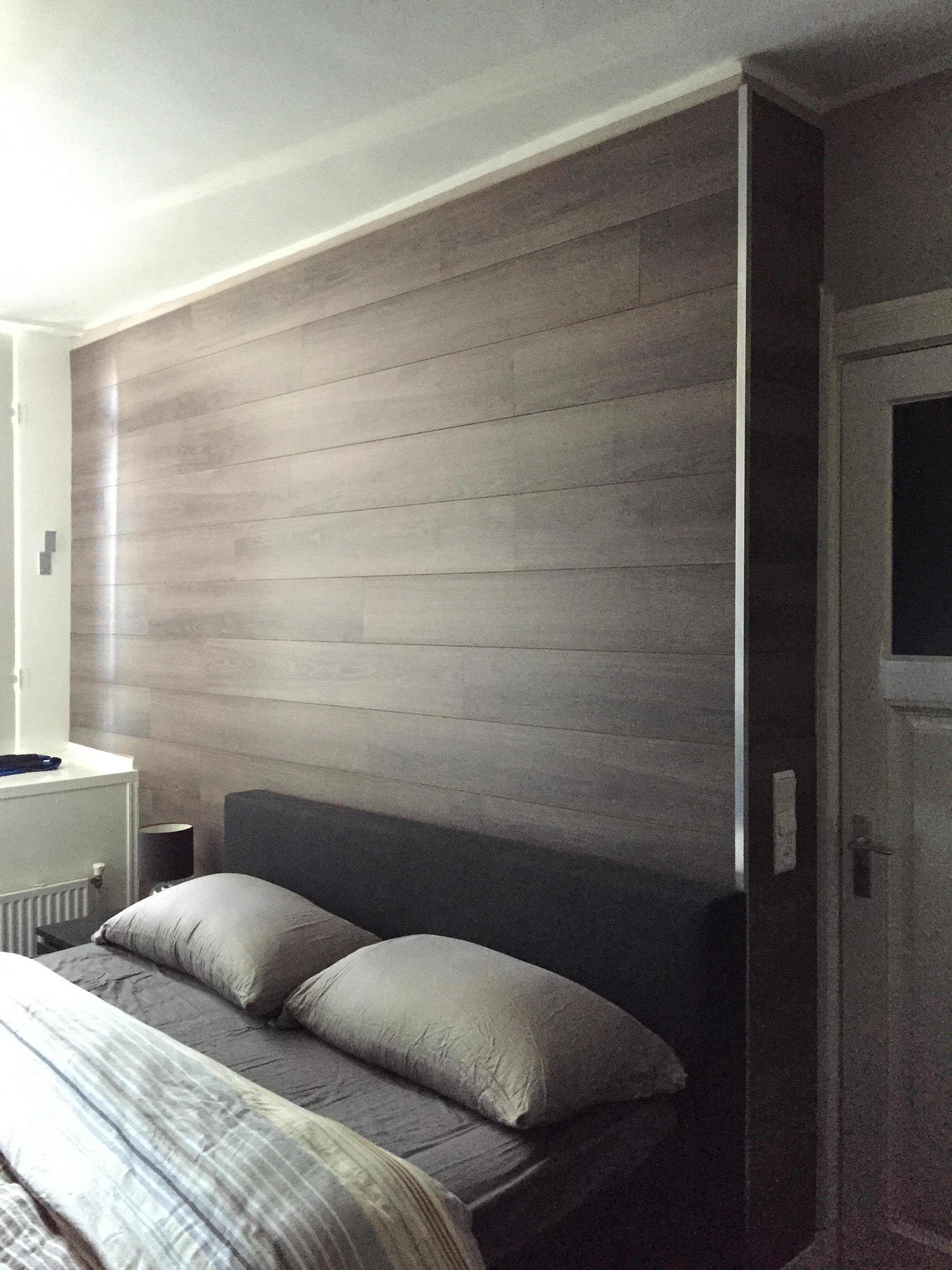Genoeg Hoe bevestig je laminaat op de muur? | voordemakers.nl RN44