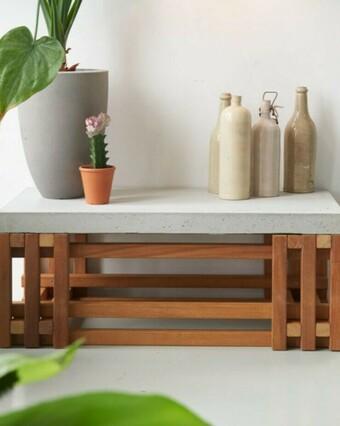 Hoe maak je een tafel met betonblad?