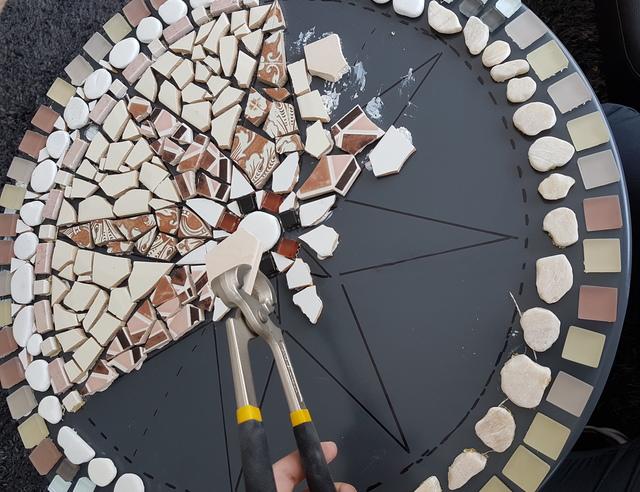Je eigen moza ektafel maken - Versieren van een smalle gang ...