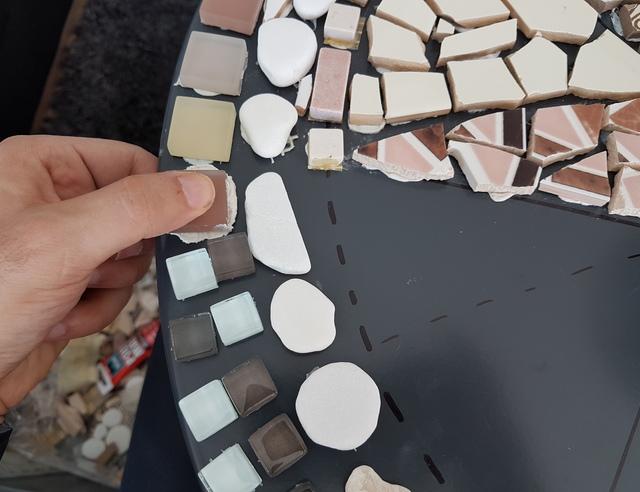 Genoeg Je eigen mozaïektafel maken | voordemakers.nl #OV76