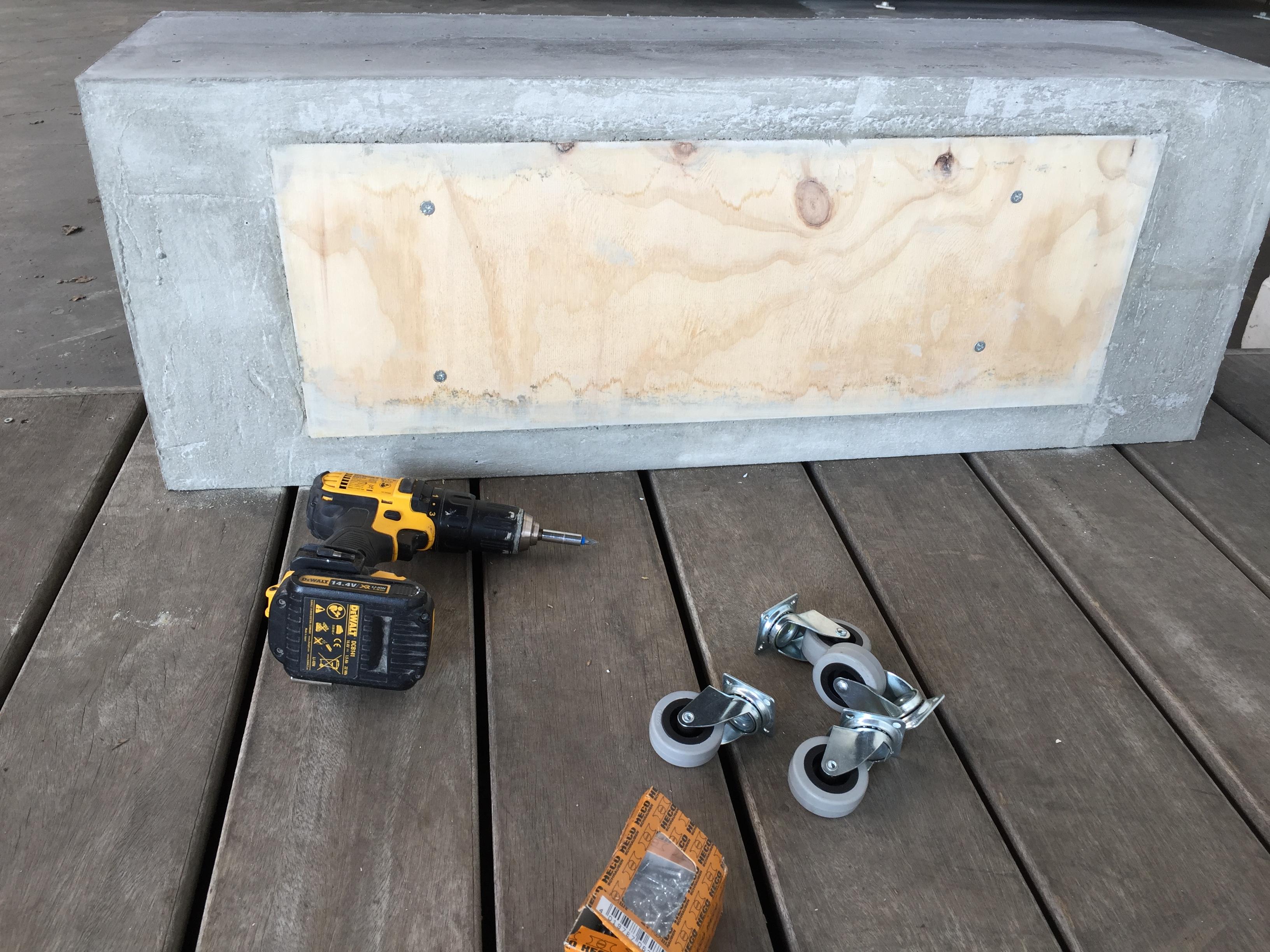 Vaak Plantenbak van beton maken | voordemakers.nl &TT39