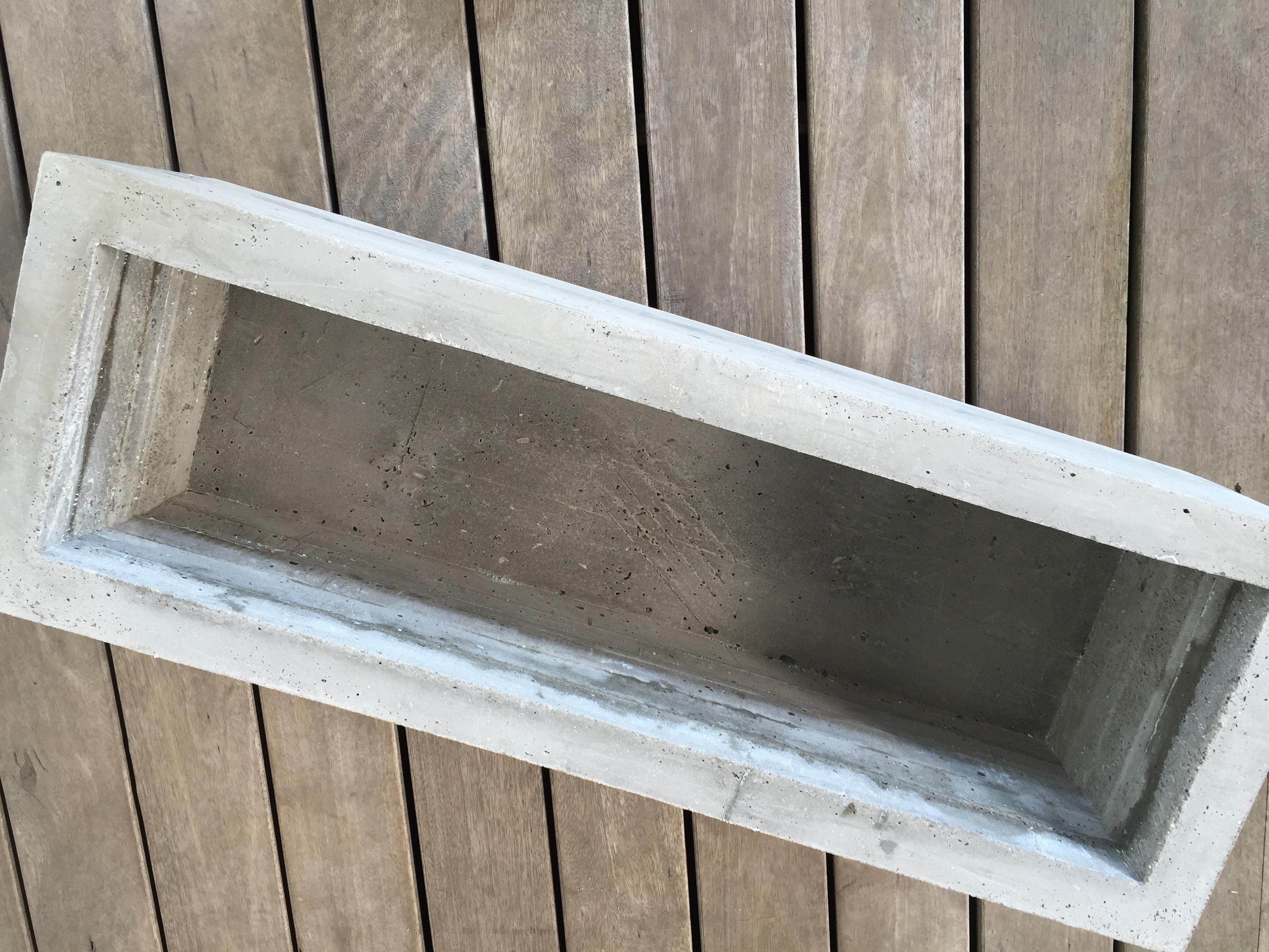 Ongebruikt Plantenbak van beton maken | voordemakers.nl WG-62
