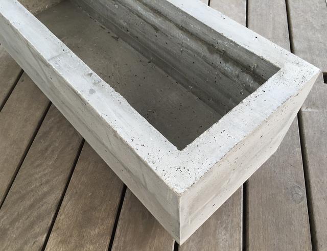 Extreem Plantenbak van beton maken | voordemakers.nl &TQ94