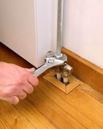 Hoe kun je een radiator aansluiten?