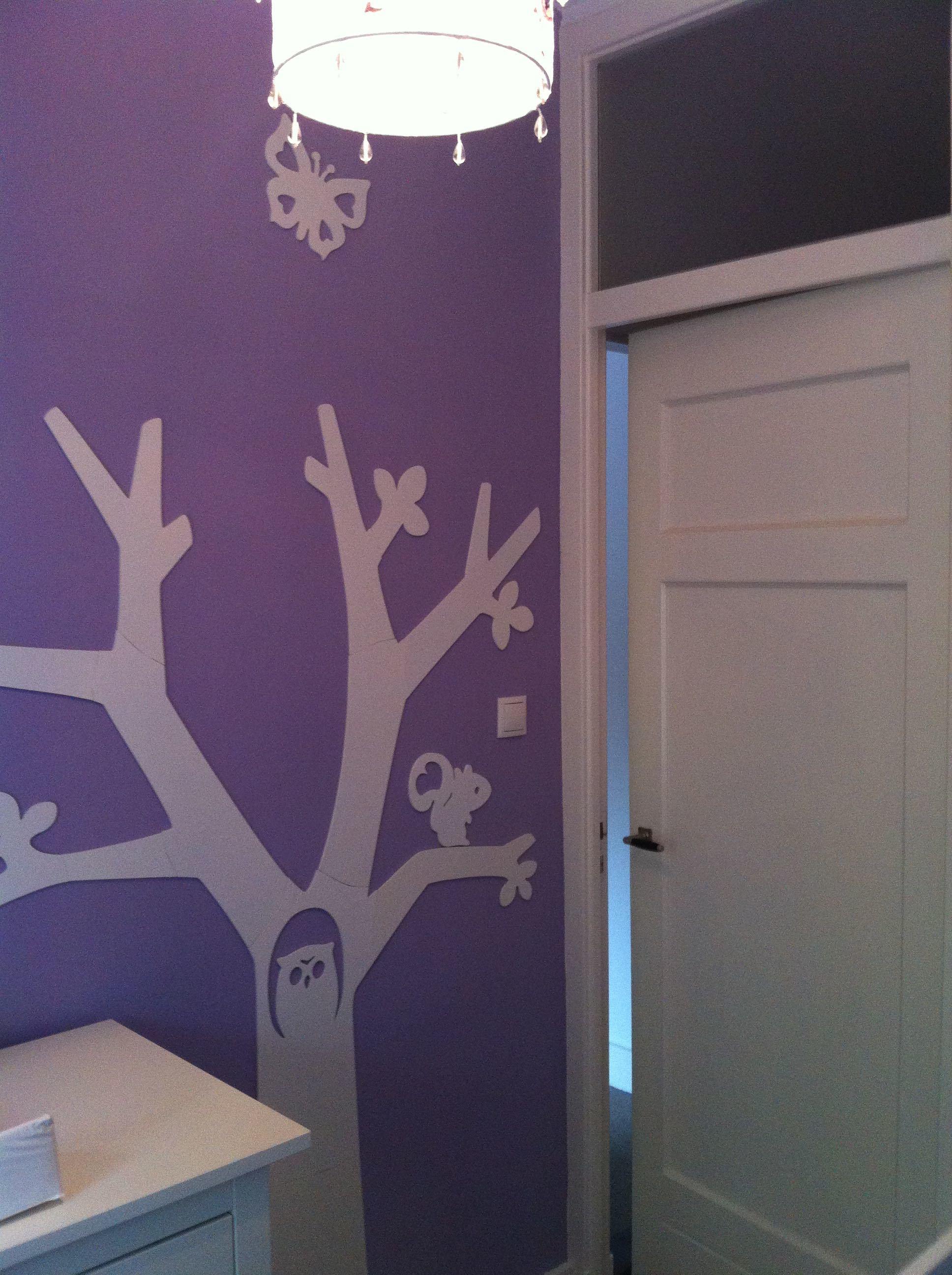 Wanddecoratie Babykamer Boom.Boom In Kinderkamer Voordemakers Nl