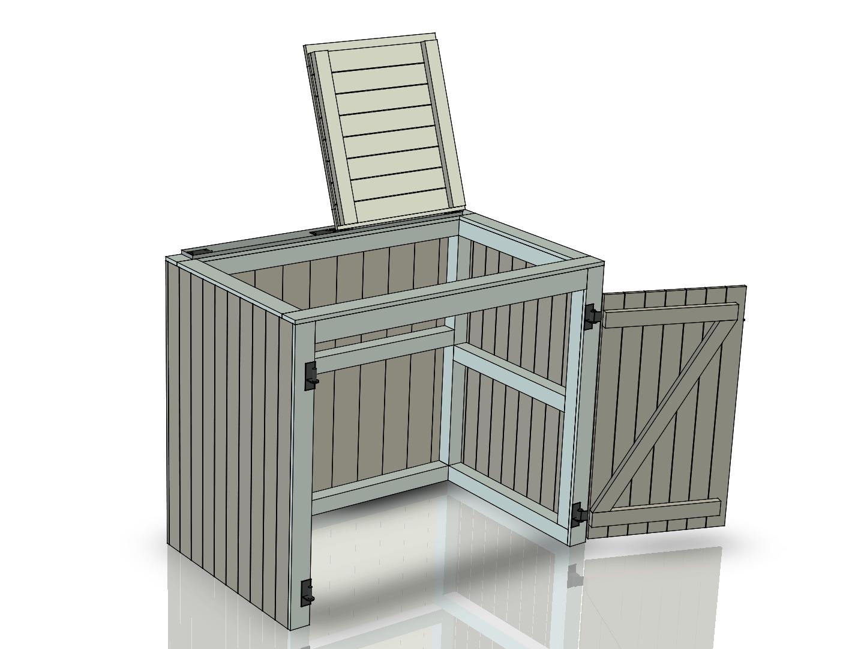 Eigen Huis En Tuin Container Ombouw