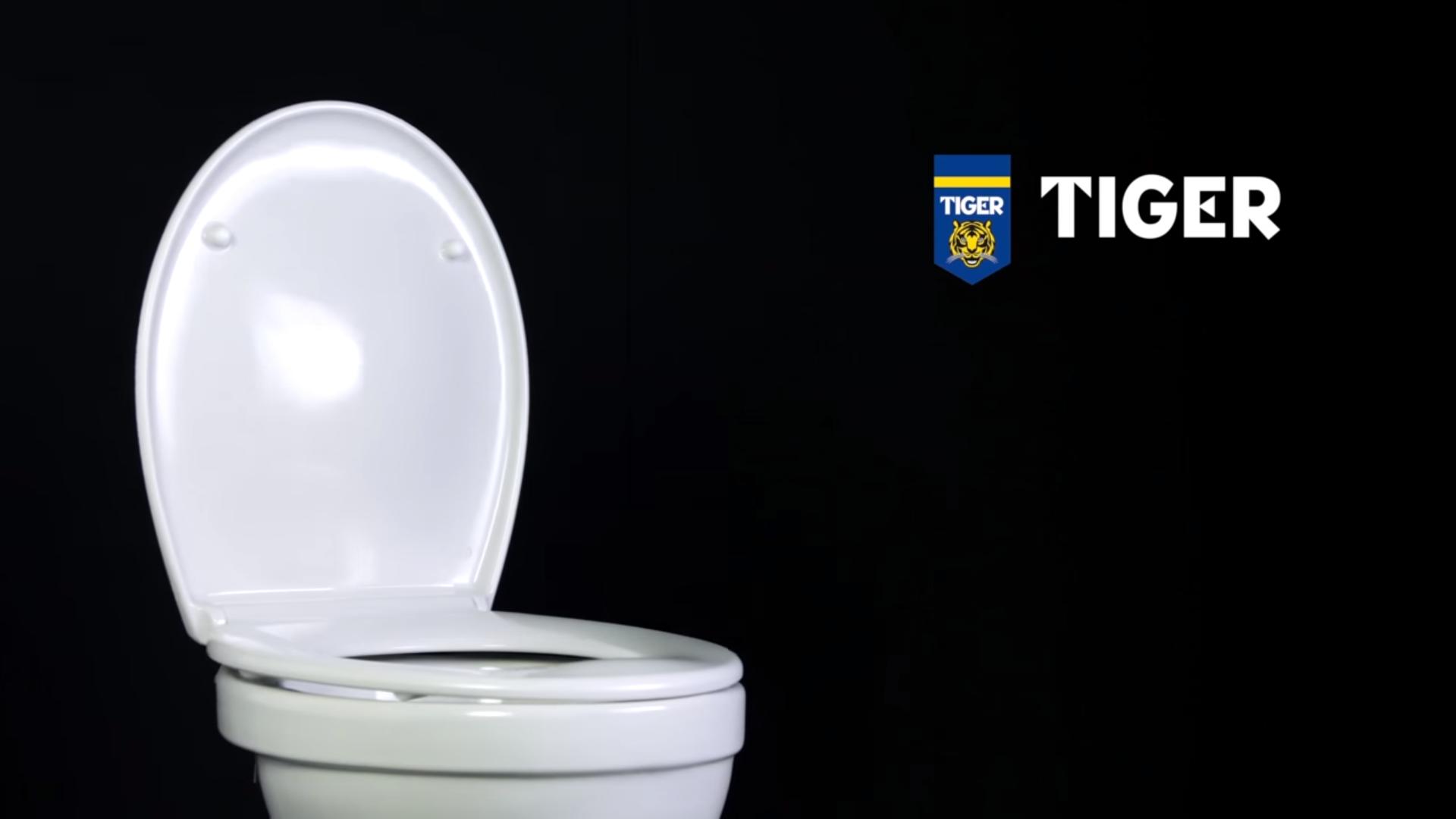 Verhoogd Toilet Praxis : Een toiletzitting monteren ventura toiletzitting van tiger
