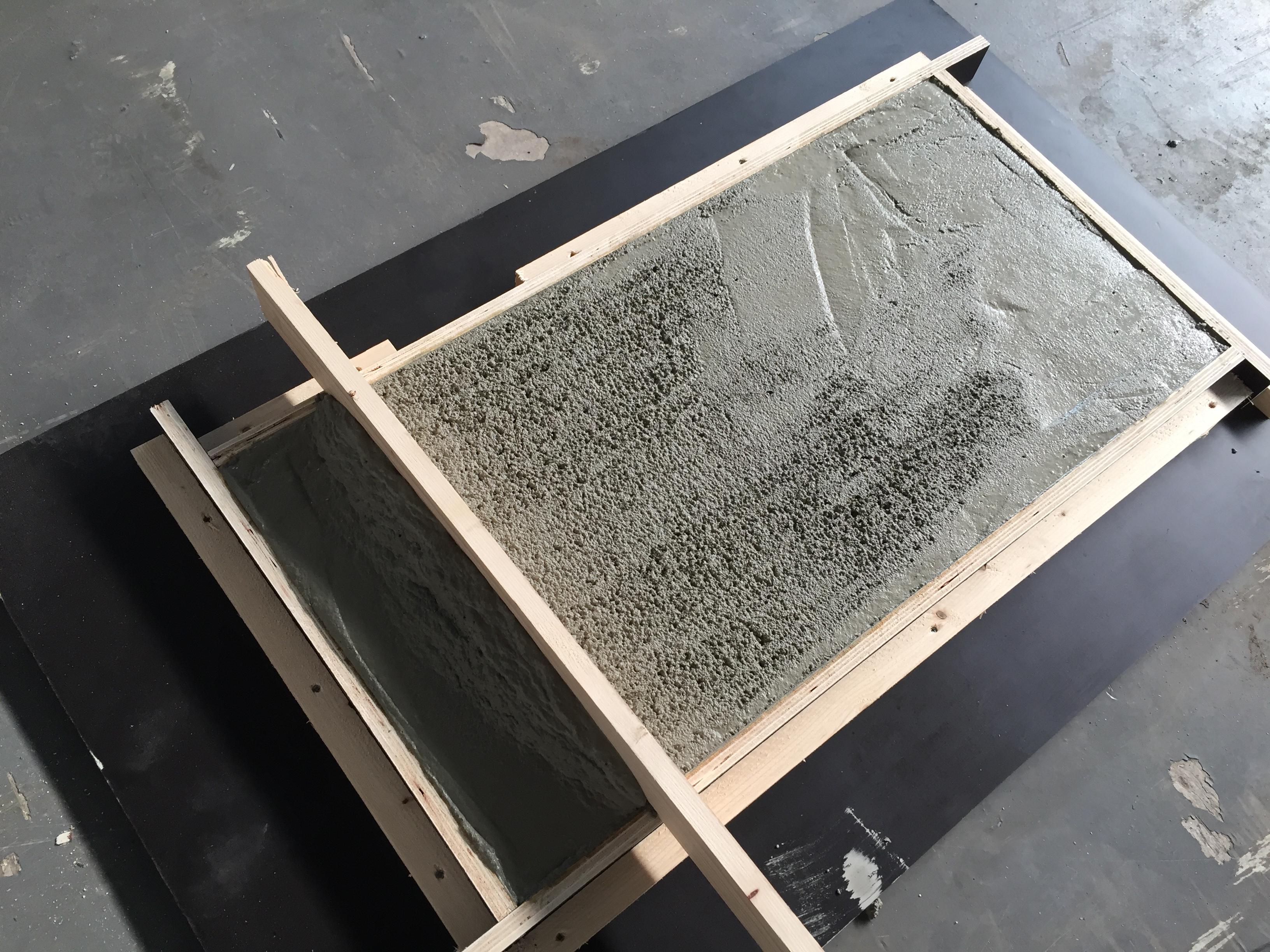 Salontafel Van Beton : Salontafel met betonblad maken voordemakers.nl