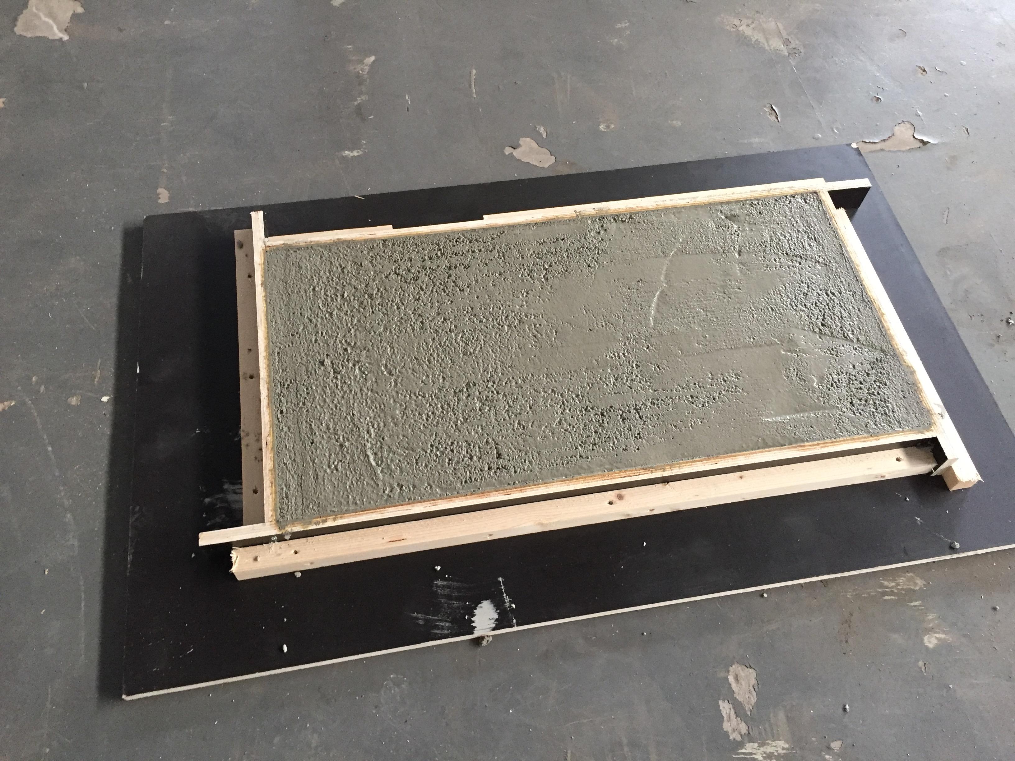 Salontafel Van Beton : Stoer robuust industrieel beton betonlook betonciré