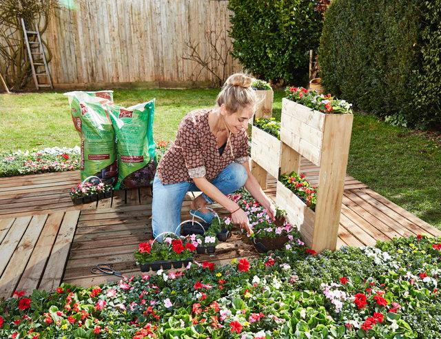 Maak een stapelbare plantenbak - Maak een eigentijdse tuin aan ...