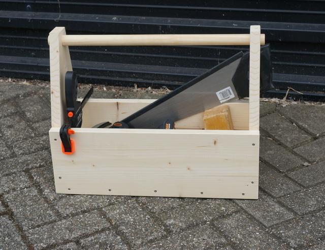 Beroemd Gereedschapkist maken van steigerhout | voordemakers.nl #VB89