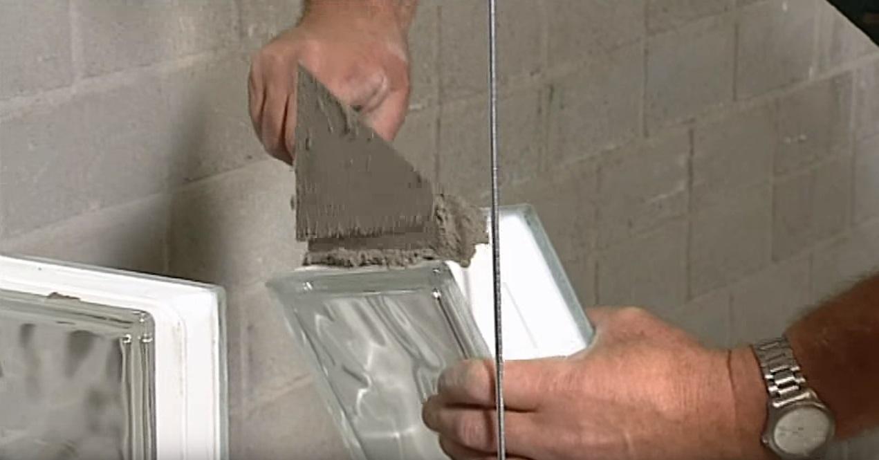 Soorten Glazen Bouwstenen : Het metselen van glazen bouwstenen voordemakers
