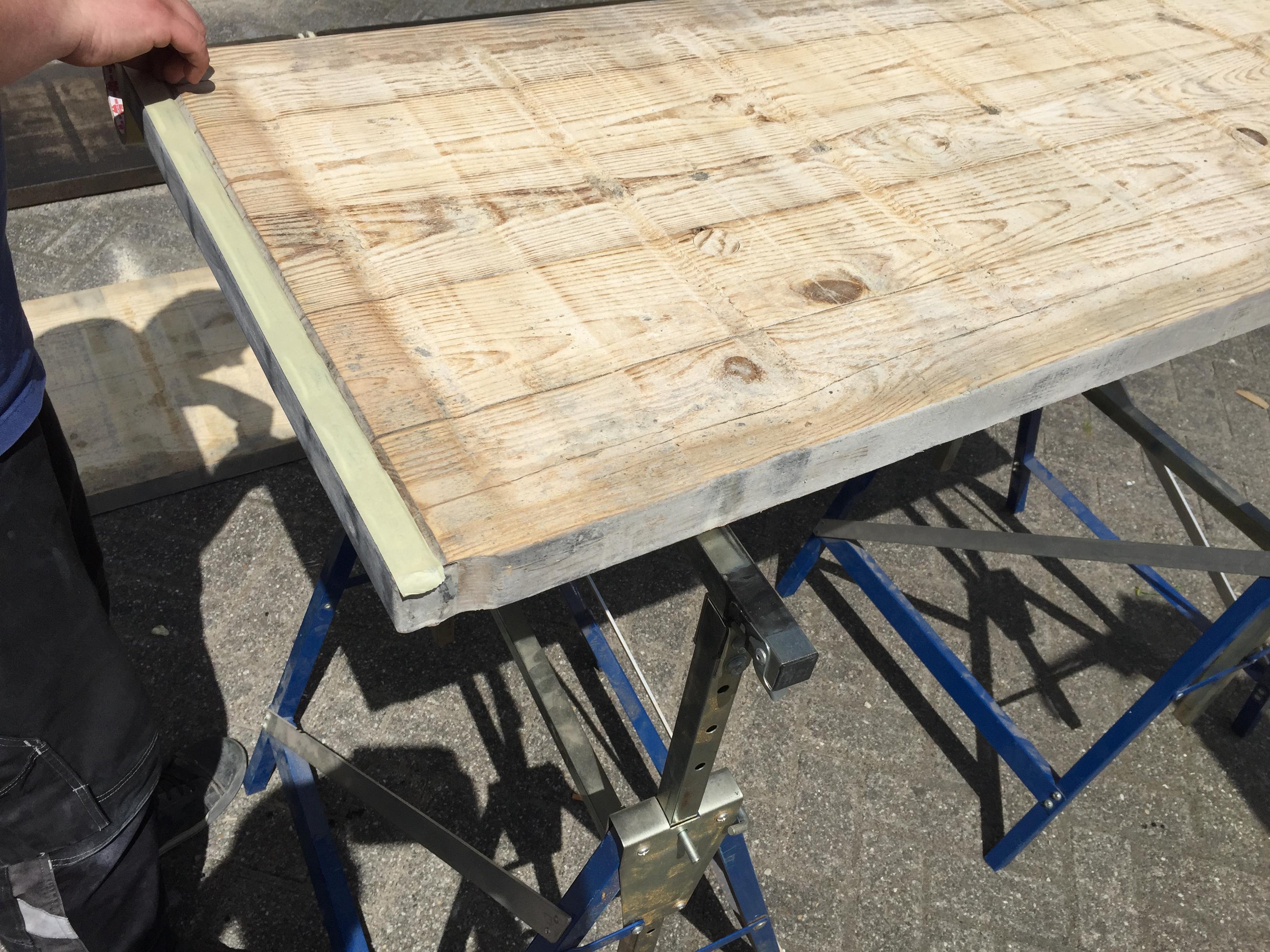 Bekend Een kloostertafel maken uit steenschot | voordemakers.nl #GA27