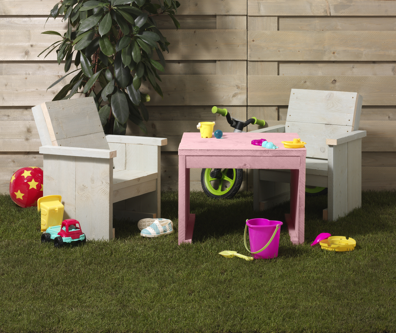 Kinderstoeltje Met Tafeltje.Kinderstoeltje Voor Bij De Kindertuinset Voordemakers Nl