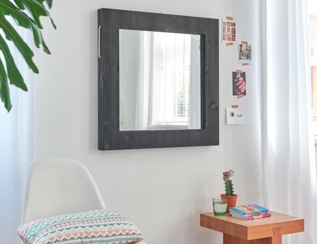 Spiegel Laten Maken : Een opklapbare spiegel tafel maken voordemakers