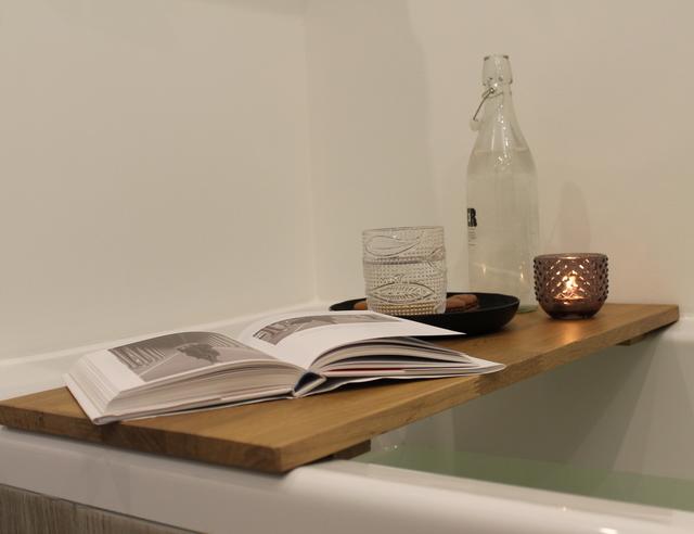 Bad Tafel Hout : Plank voor op bad maken voordemakers