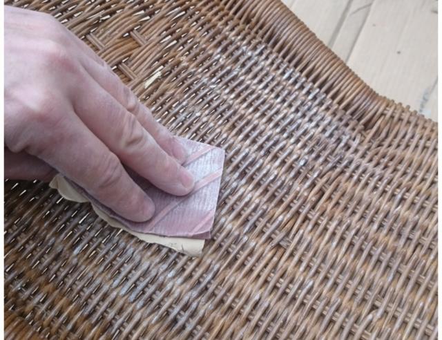 Bedwelming Graywash rotan stoel | voordemakers.nl &ND61