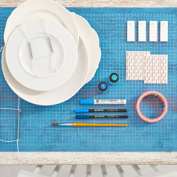Betere Decoratieve borden aan de muur | Stappenplan TN-59