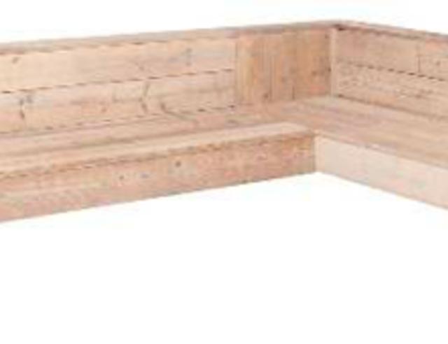 Hoekbank steigerhout voordemakers