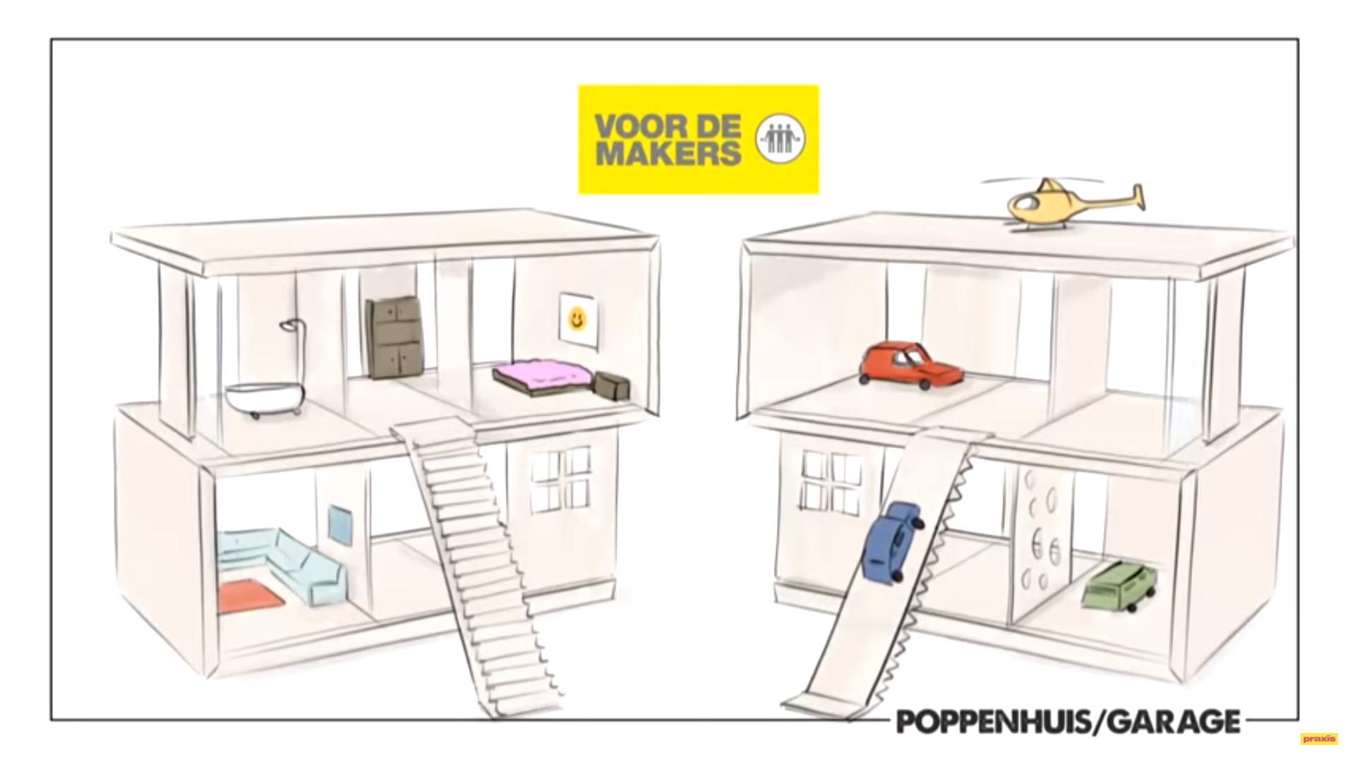 poppenhuis of garage maken voordemakersnl