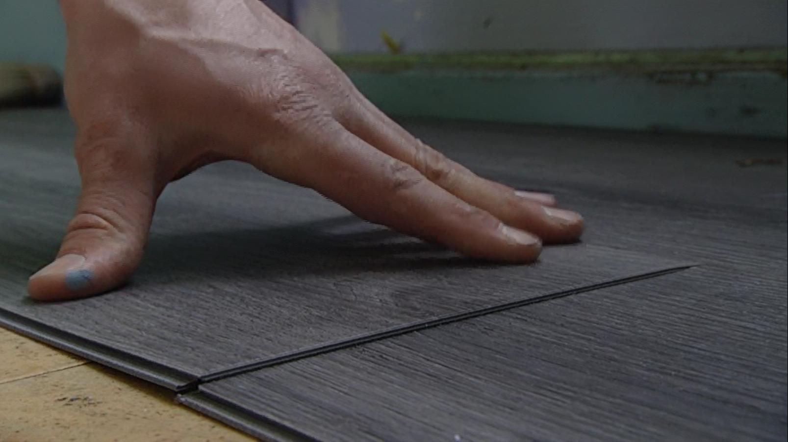 klik vinyl laminaat leggen voordemakers