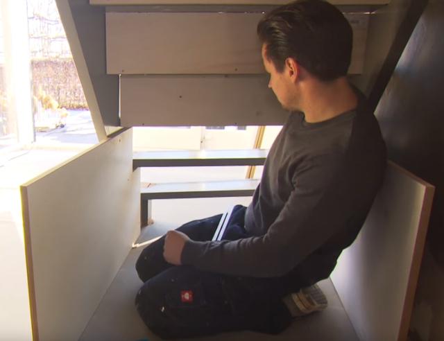 Voorkeur Verrijdbare lades onder trap | voordemakers.nl @SK19