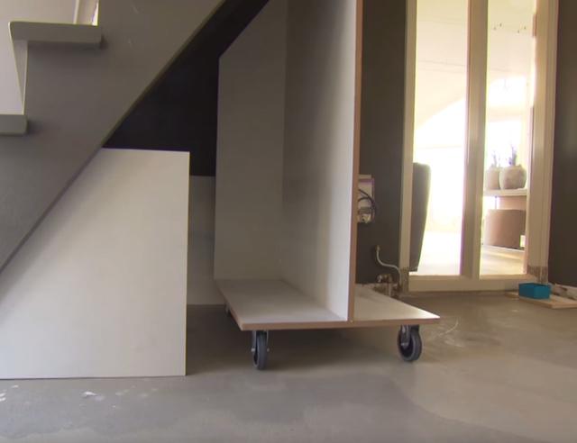 Kast In Trap : Kast onder trap wortman
