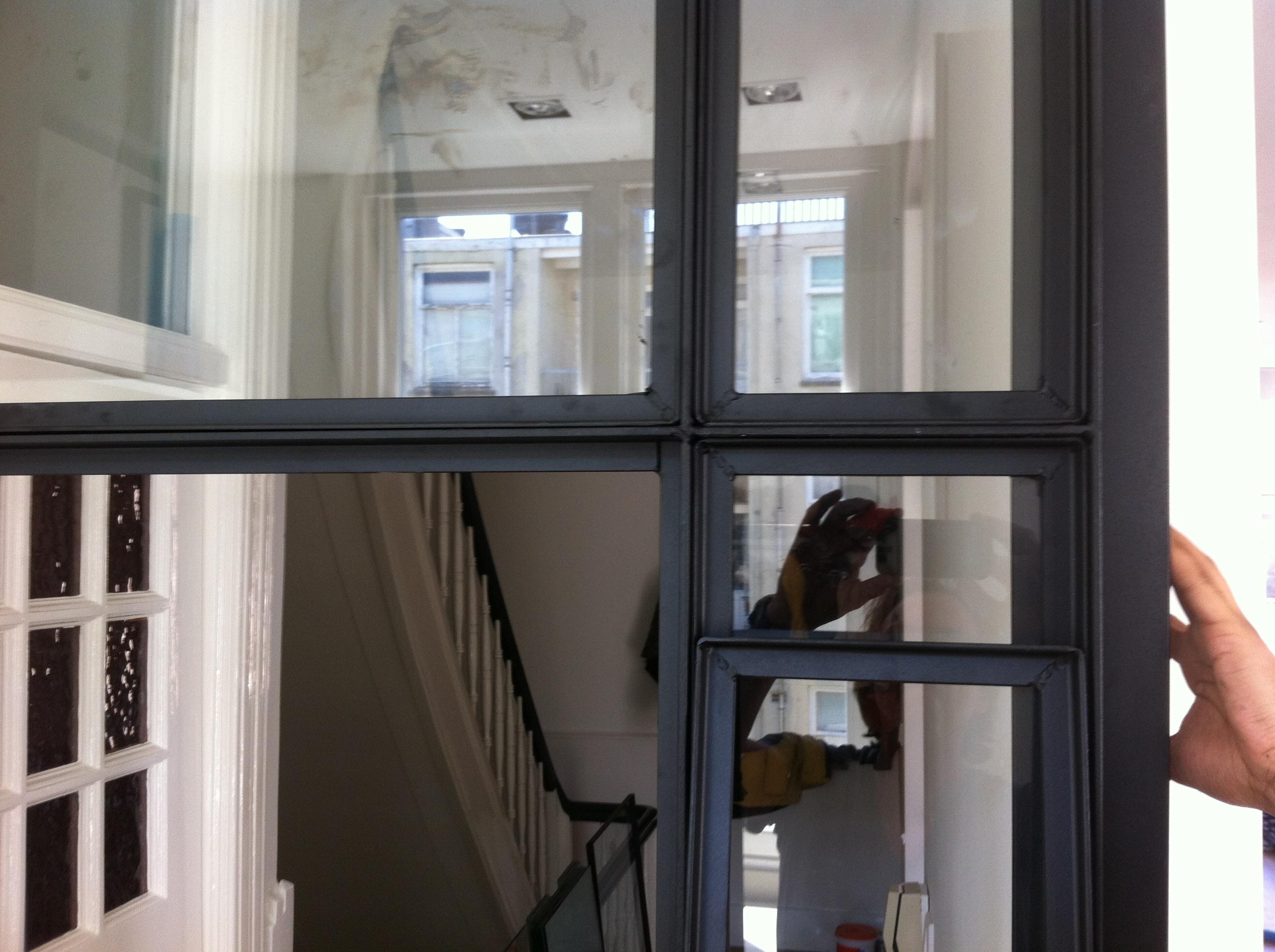 Een Stalen Deur : Stalen binnendeuren raam voordemakers