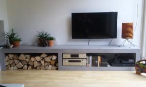 Tv Kast Maken : Tv kast met lift curved luuks design