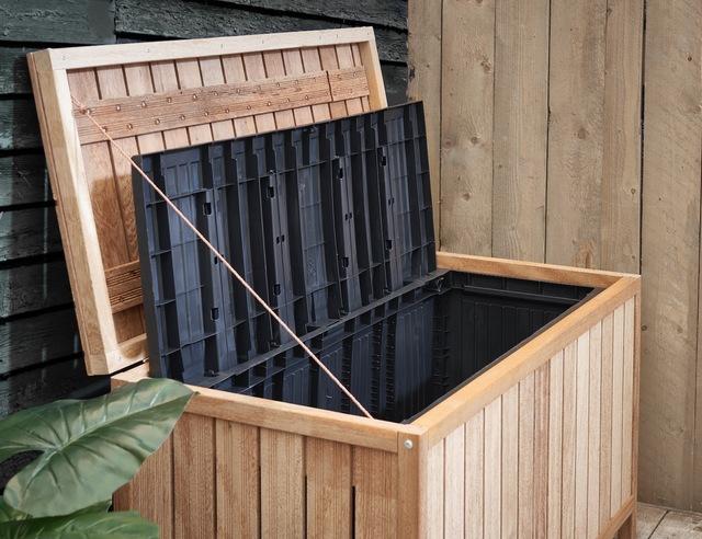 Opbergbox Kussens Tuin : Een waterdichte opbergbox ombouw maken voordemakers.nl