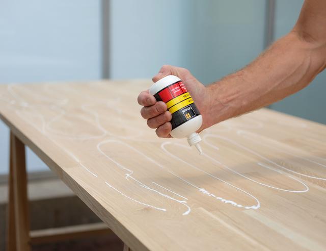 Favoriete Industriële eettafel maken met stalen tafelpoten | voordemakers.nl #GG97
