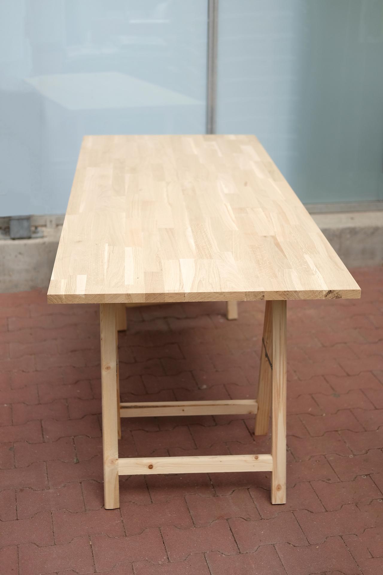 Mooie Steigerhouten Eettafel.Industriele Eettafel Maken Met Stalen Tafelpoten Voordemakers Nl