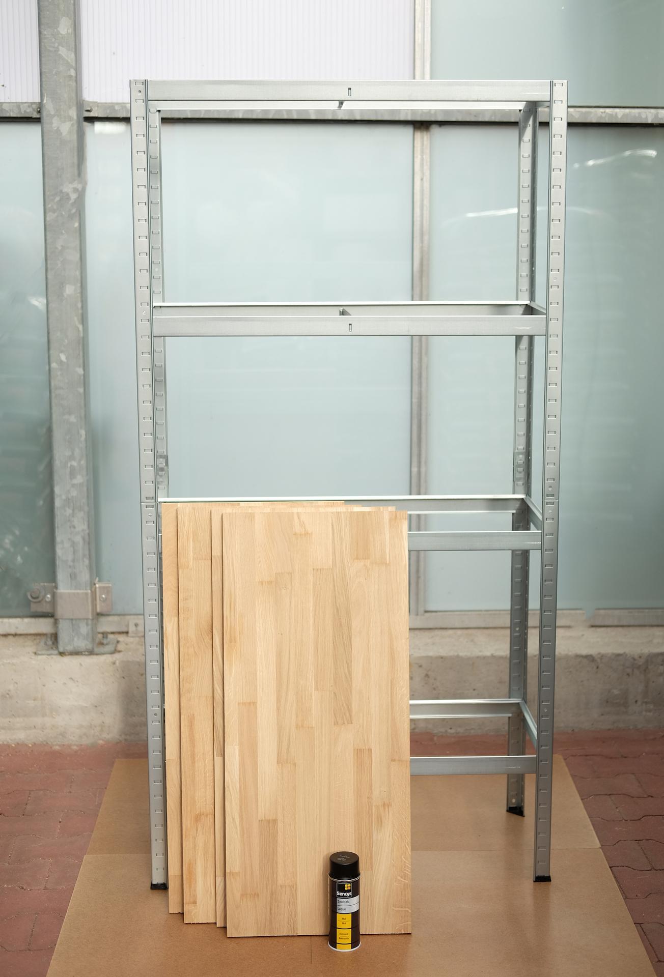 Maak een industri le kast - Planken maken in een kast ...