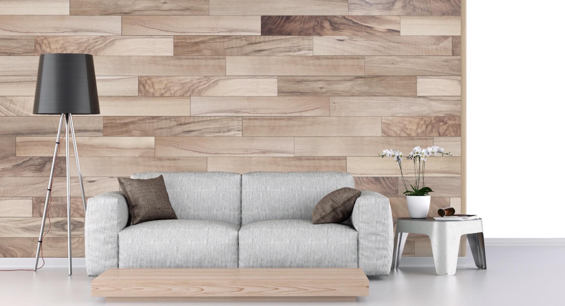 Decoratie Badkamer Muur : Hoe bevestig je laminaat op de muur voordemakers