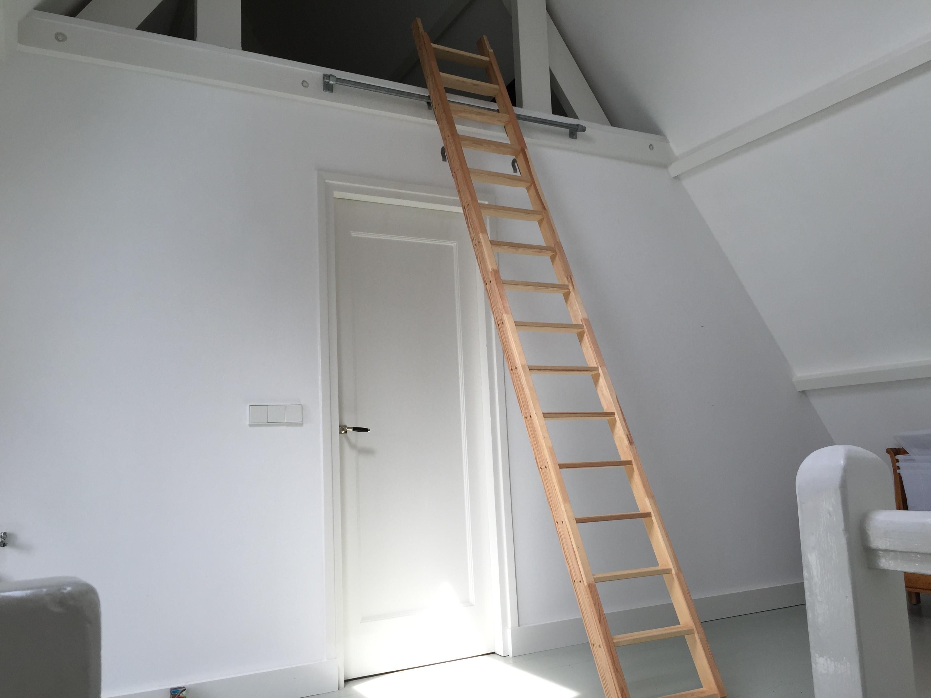 Zolder trap ladder voordemakers.nl