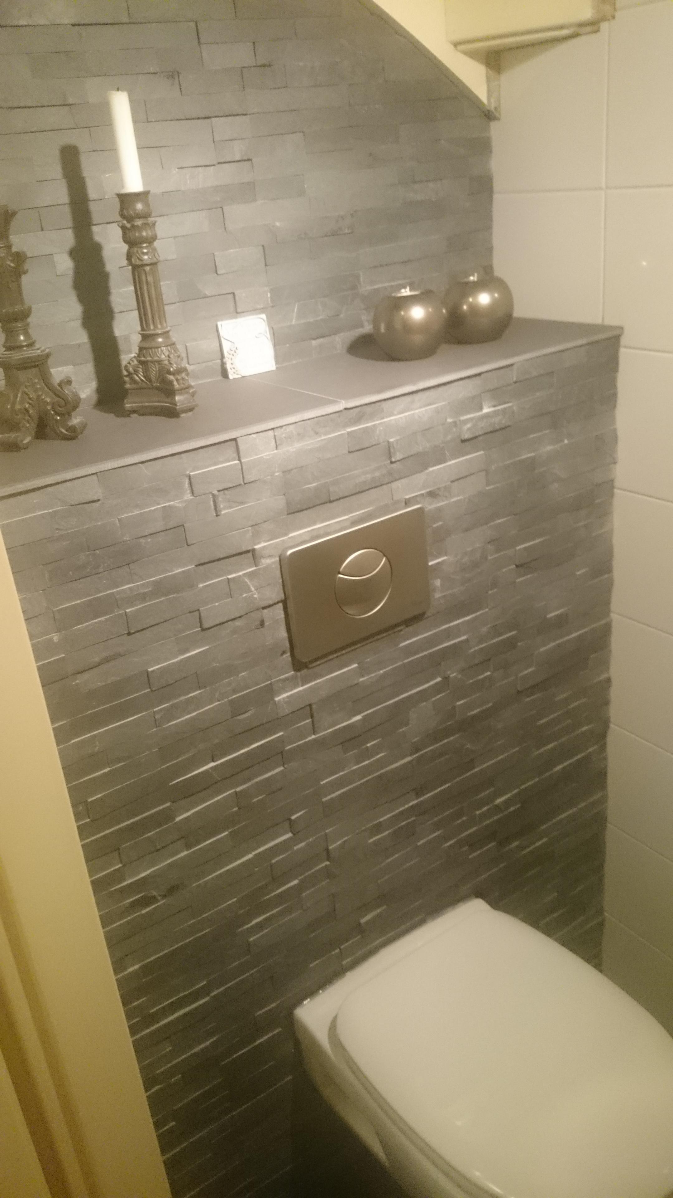 Toilet decoratie for Toilet betegeld