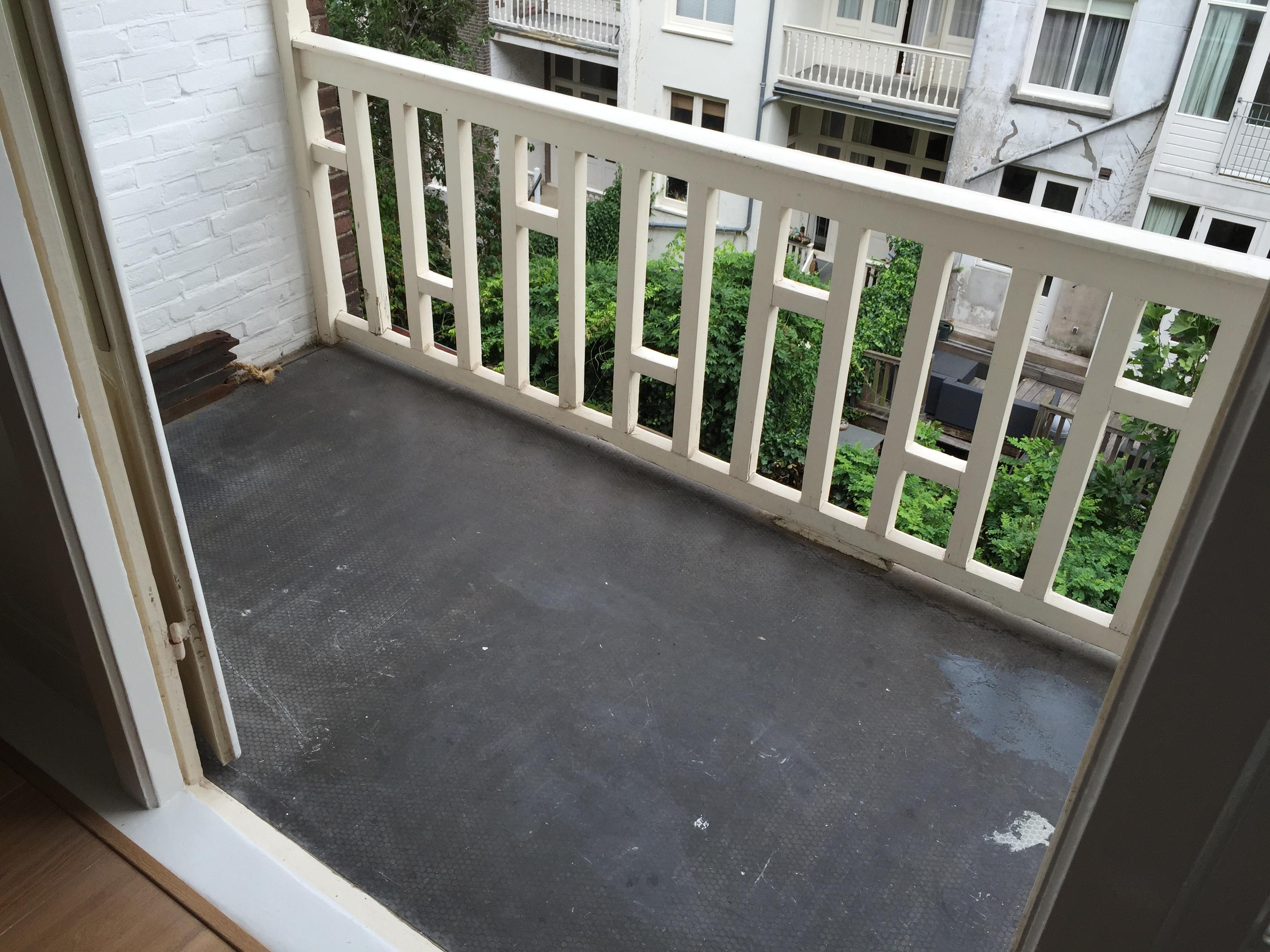 Beroemd Hout op balkon | voordemakers.nl DP28