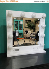 Stappenplan make up spiegel met verlichting