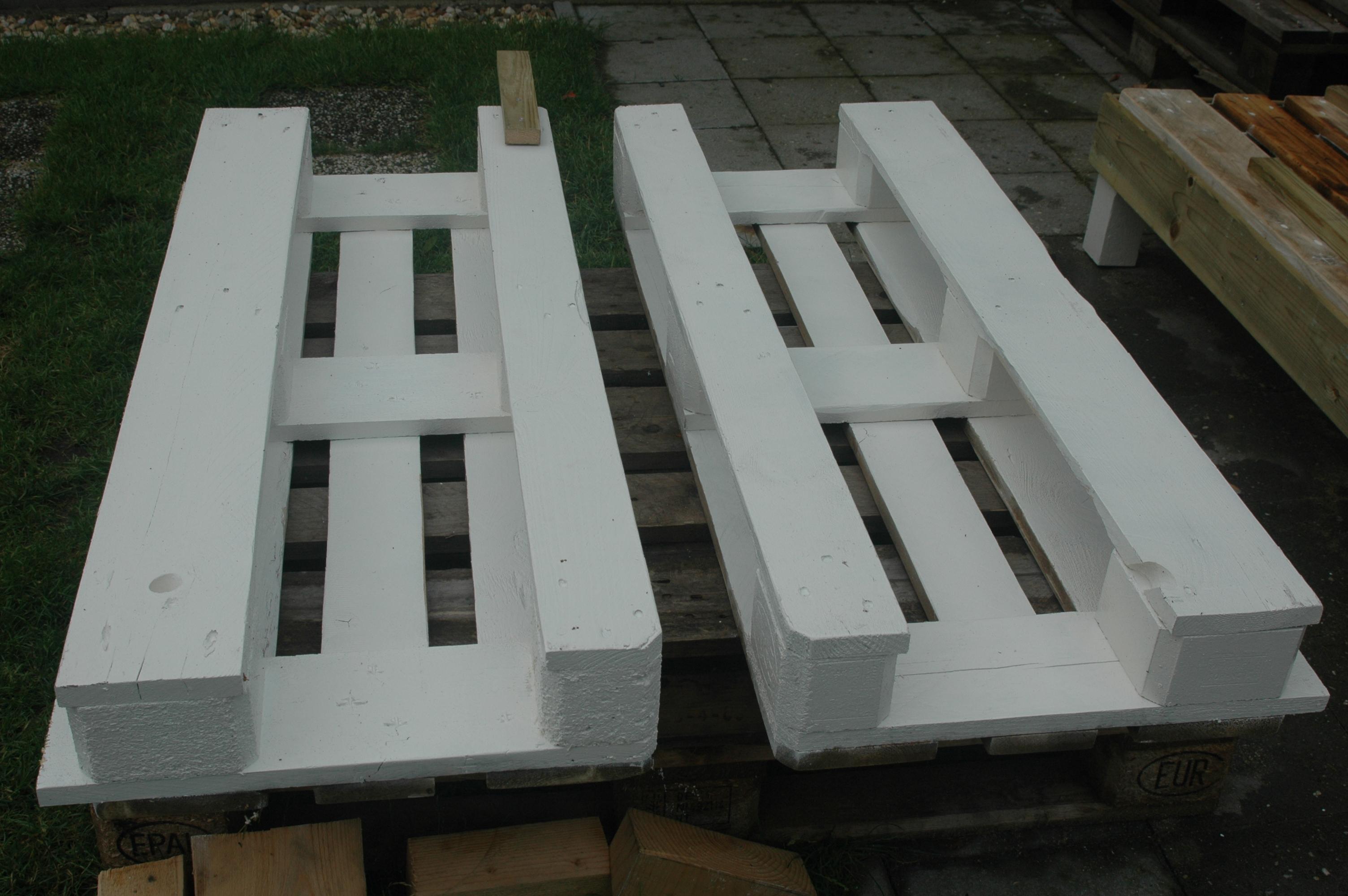 Geliefde Loungebank van pallets | voordemakers.nl OO54