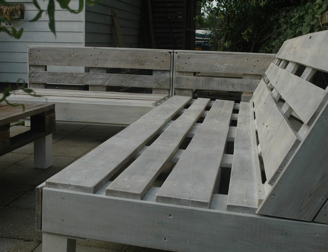 Kussens Pallet Bank : Pallet kussens goedkoop arbrini design tuinmeubelen