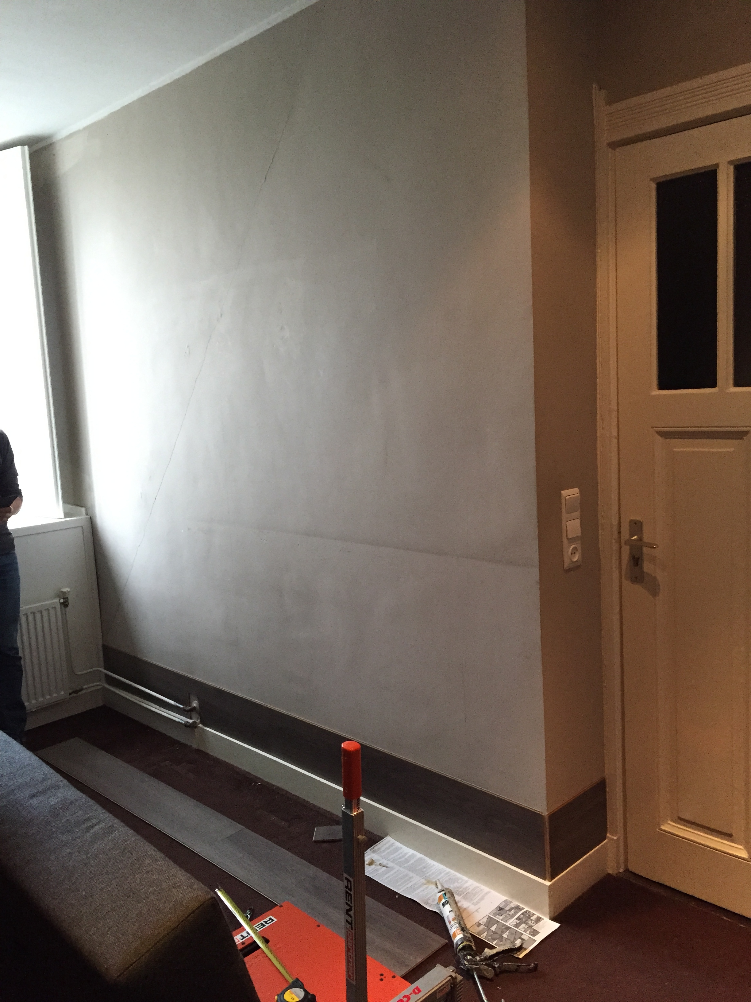 beton stone look badkamer met coprox afwerking voordemakers