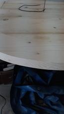 Ik moet van een houten cirkel 2cm halen, hoe?