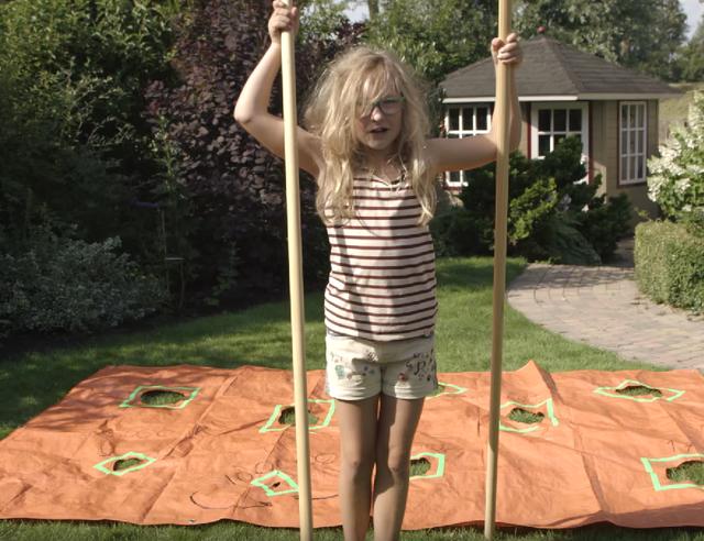 Hoe maak je kiki s magische zeil voordemakers