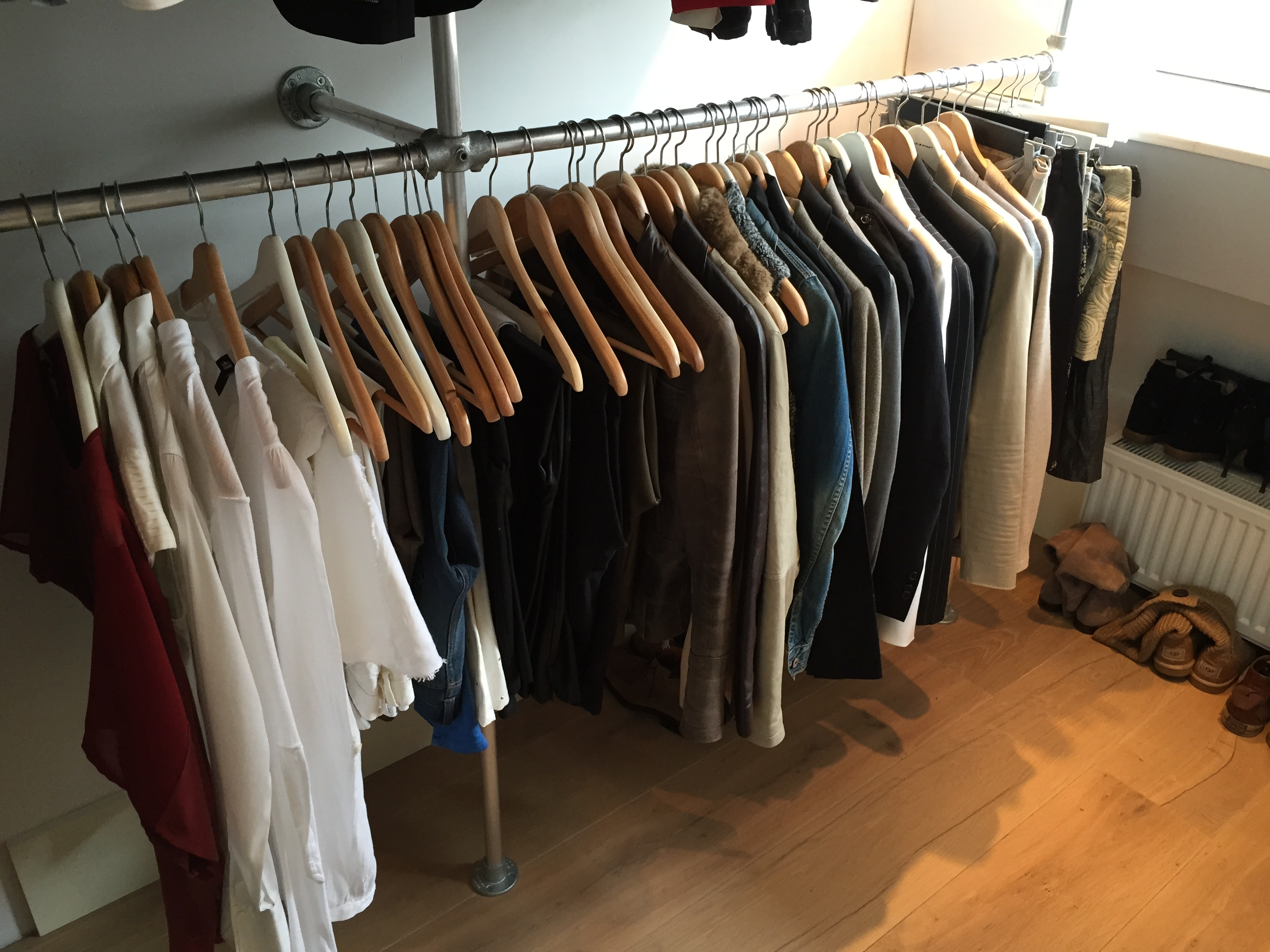 Voorkeur Buizenframe kledingrek | voordemakers.nl ZI83