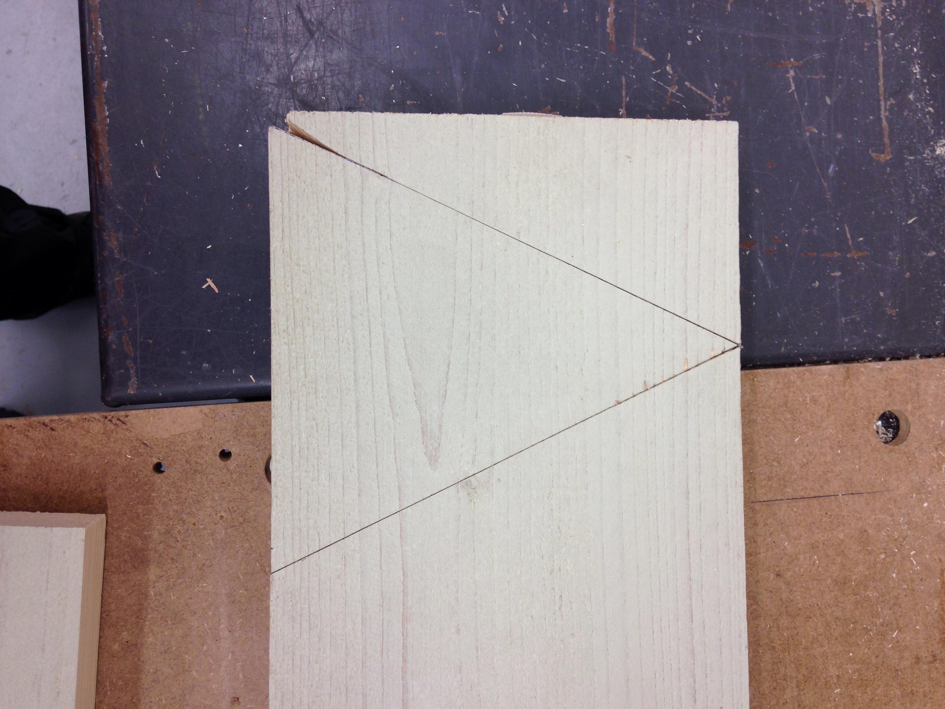 Bureau maken van ikea ladeblokken steigerhout voordemakers